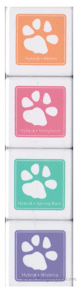 Simon Says Stamp SPRING FLOWERS Hybrid Ink Cube Set