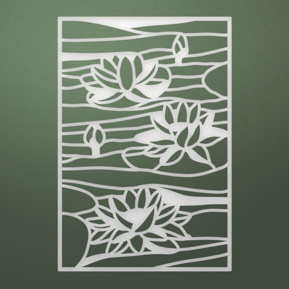 Ultimate Crafts LILY POND Stained Glass Die