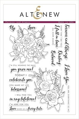 Altenew FOREVER AND ALWAYS Clear Stamp Set