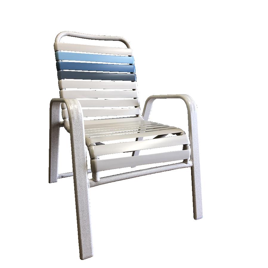 W50 Vinyl Strap Chair