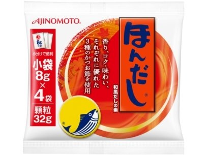Ajinomoto, Hondashi, Instant Dashi Powder, Bonito, 8g x 4 sticks