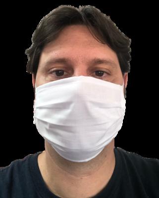 Máscara Unissex de tecido Tricoline Ibiza Leve- 10 (dez) Unidades