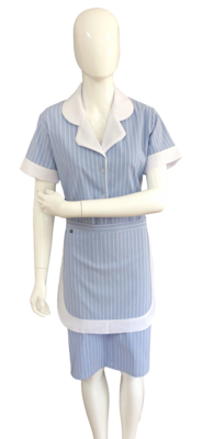 Conjunto de Vestido e Avental
