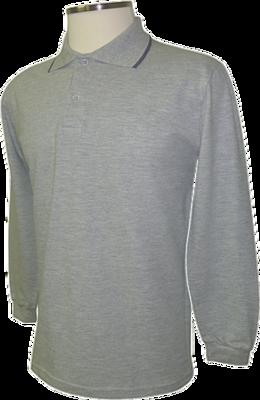 Camiseta Pólo Masculina Manga Longa