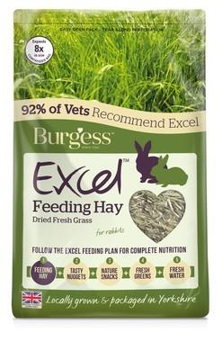 Burgess Excel Timothy Feeding Hay 1kg