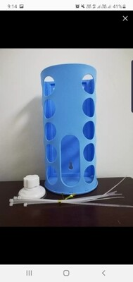 Plastic Hay Rack (Blue)