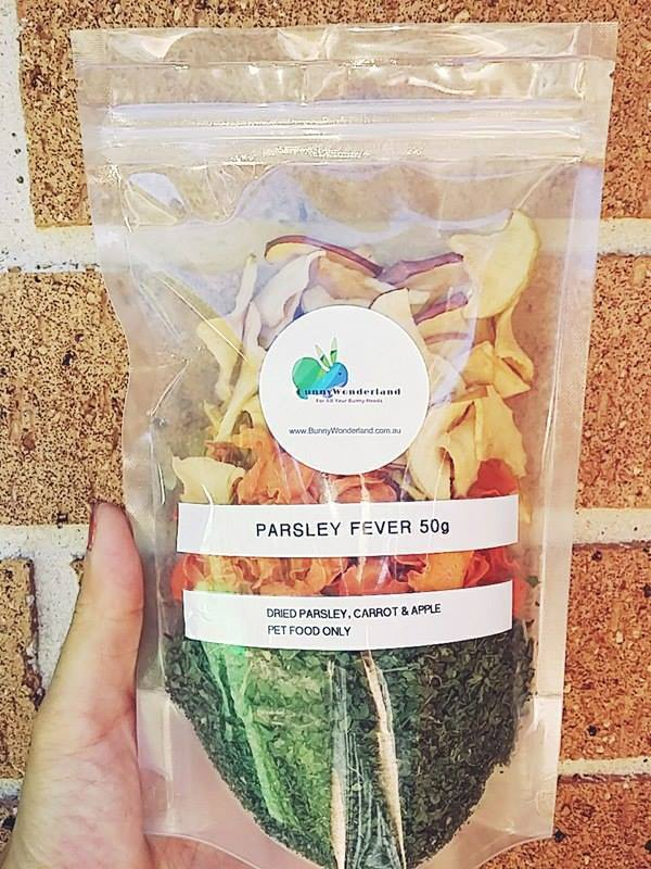 Hay/Pellet Topper - Parsley Fever 50g