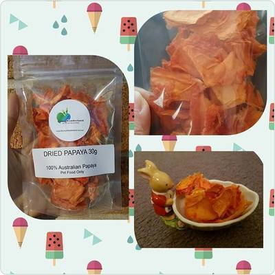 Natural Dried Papaya 30g