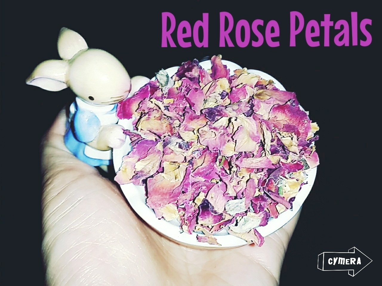 Dried Red Rose Petals 40g
