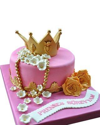 Krone Figur Torte