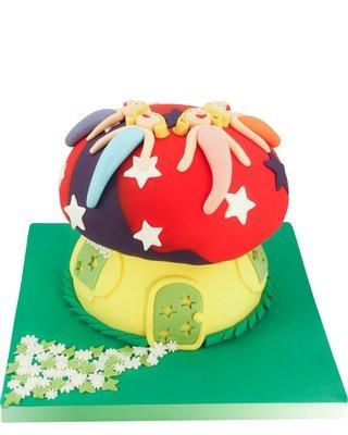 Pilz Figur Torte