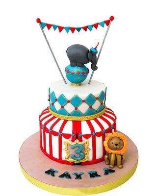 Zirkus Figur Torte
