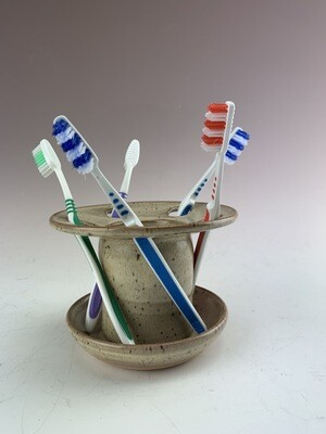 Toothbrush Holder/Sand