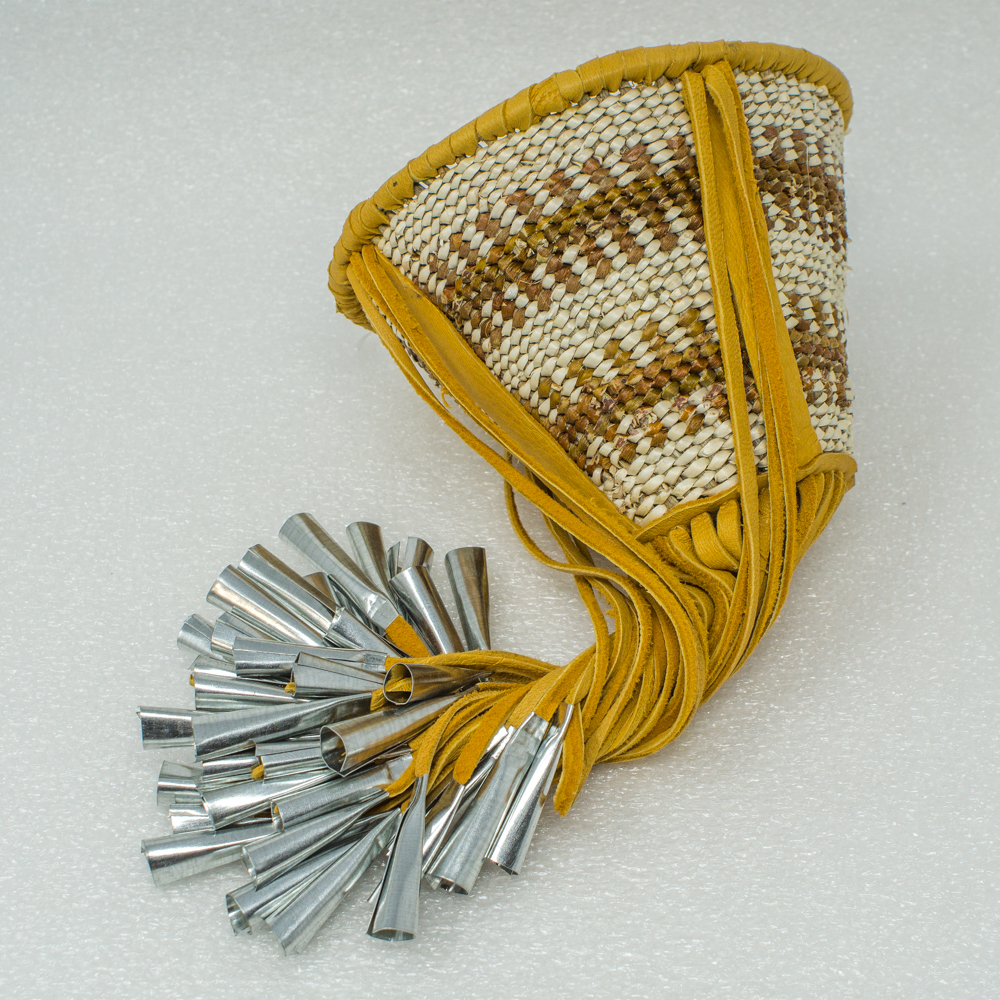"Apache Burden Basket by Lisha Steele - 5 1/2"" GA190039"