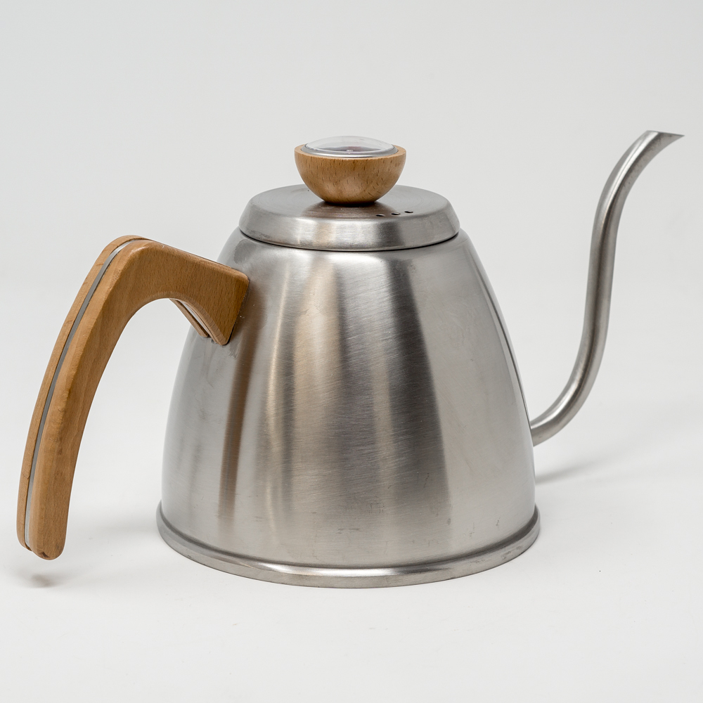 Stainless Steel Tea Kettle with Built In Thermometer SG200059
