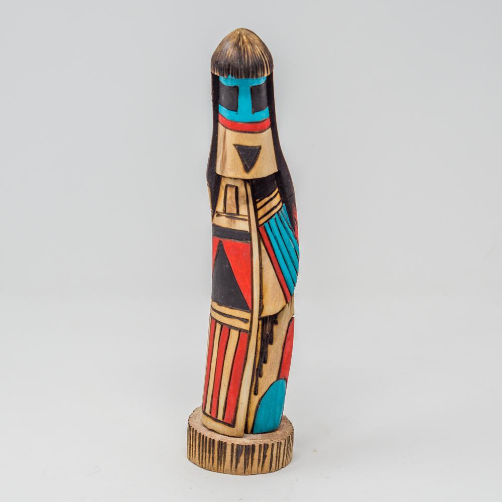 Navajo Long Hair Doll by Jerome Totsoni GA200014