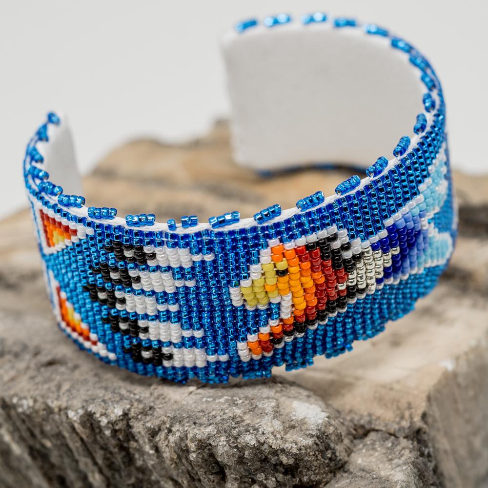 Apache Beaded Horse Bracelet