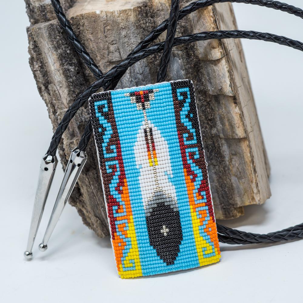 Apache Beaded Bolo JE200047
