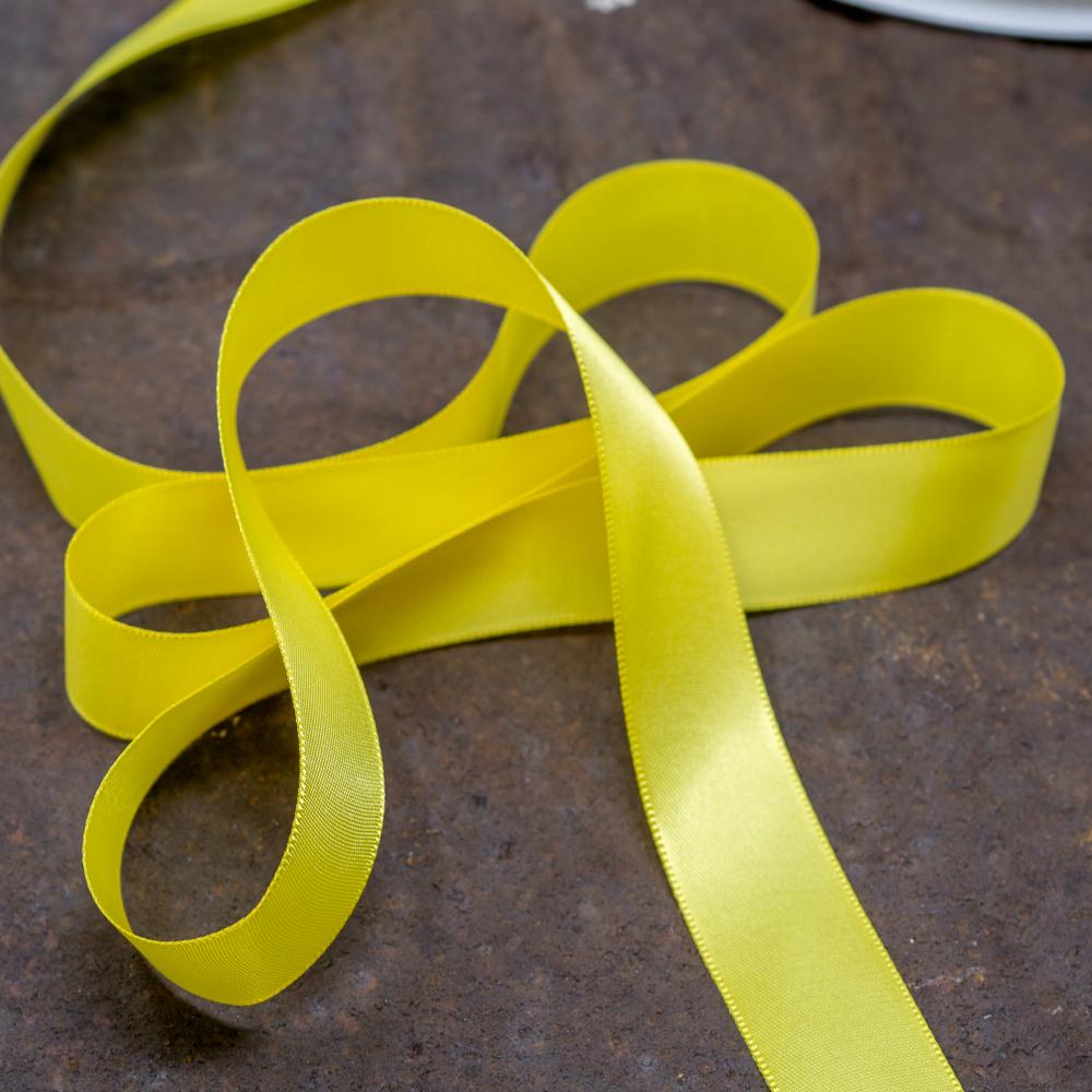 Satin Ribbon-Yellow TP200010