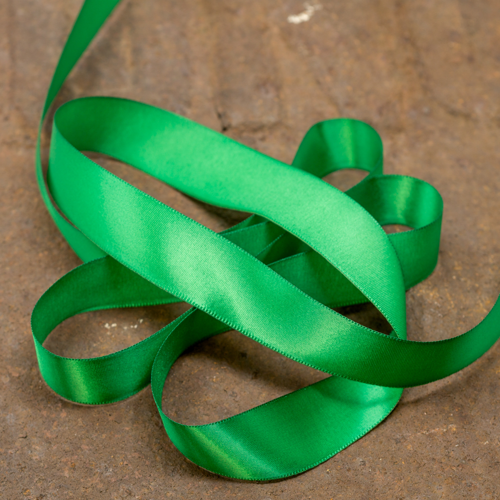 Satin Ribbon-Green TP200008