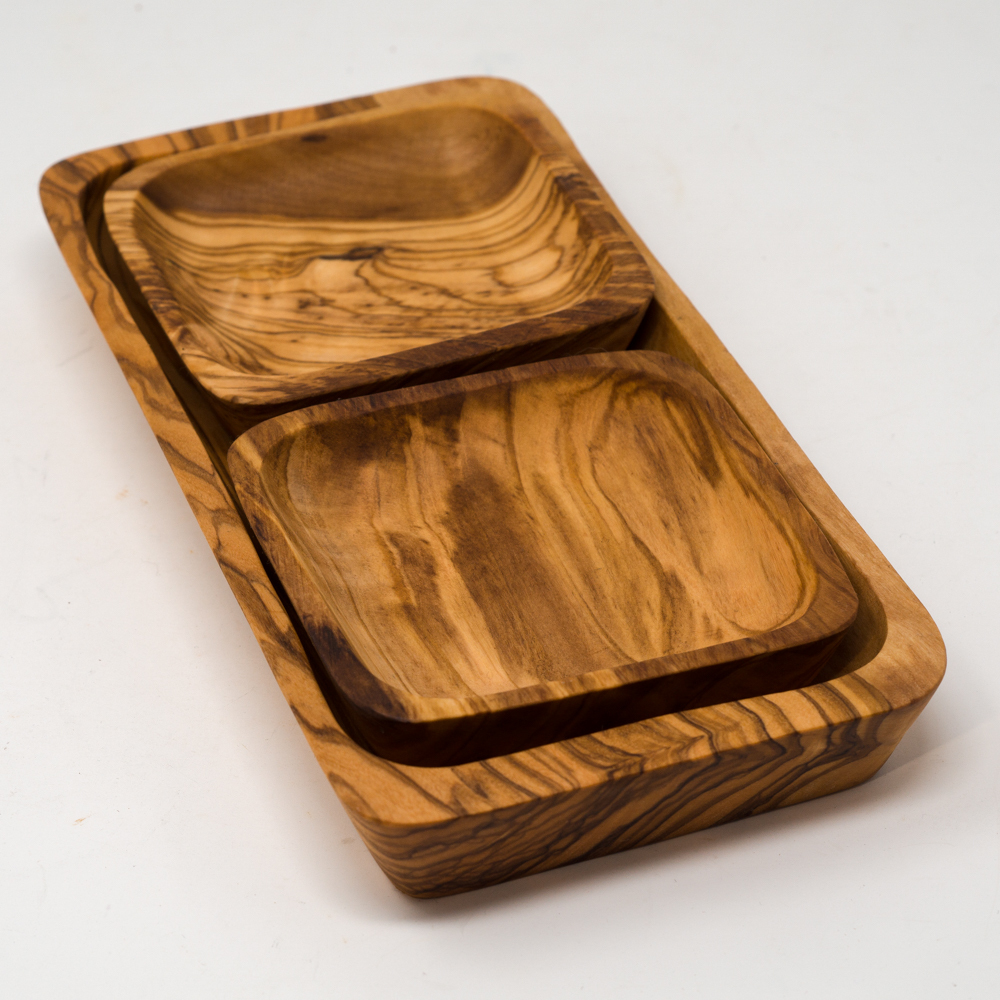 Olive Wood Small Serving Tray SG200076