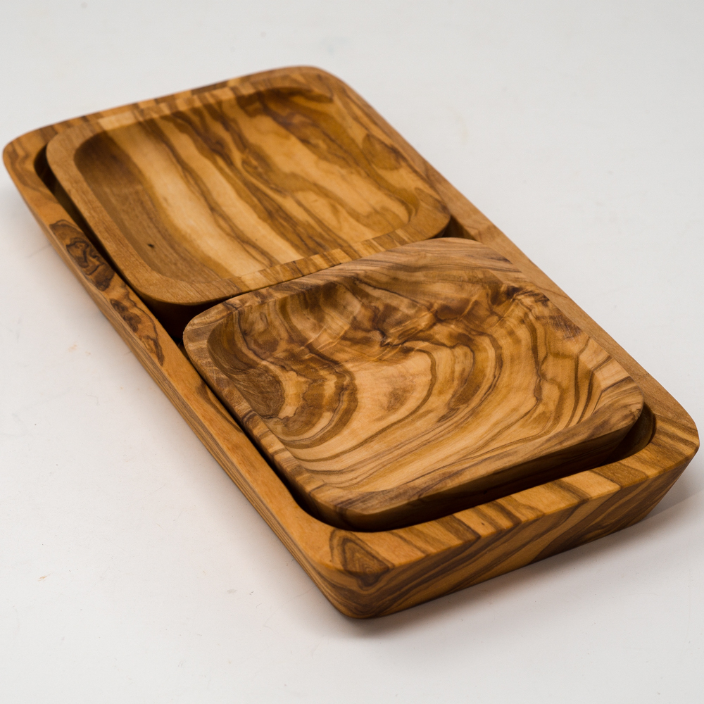 Olive Wood Small Serving Tray SG200075