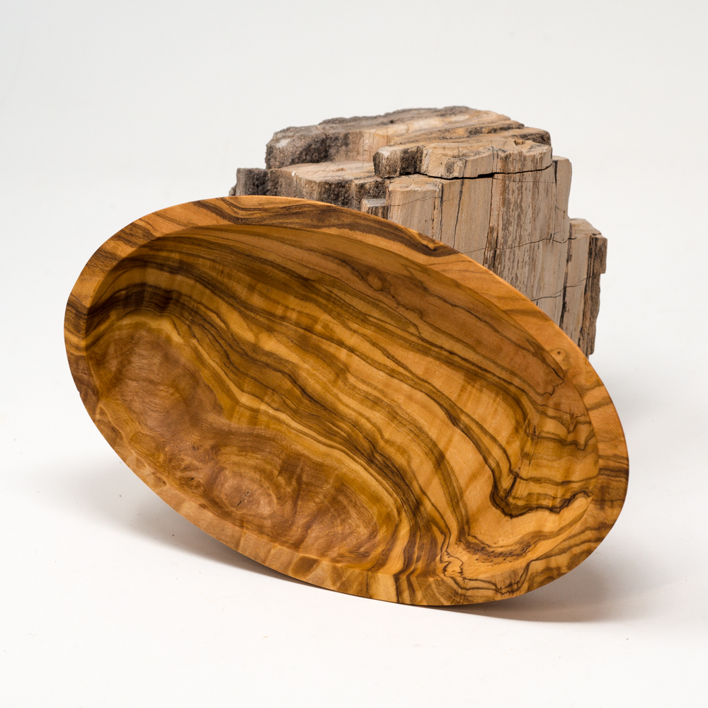 Olive Wood Small Dish SG200074