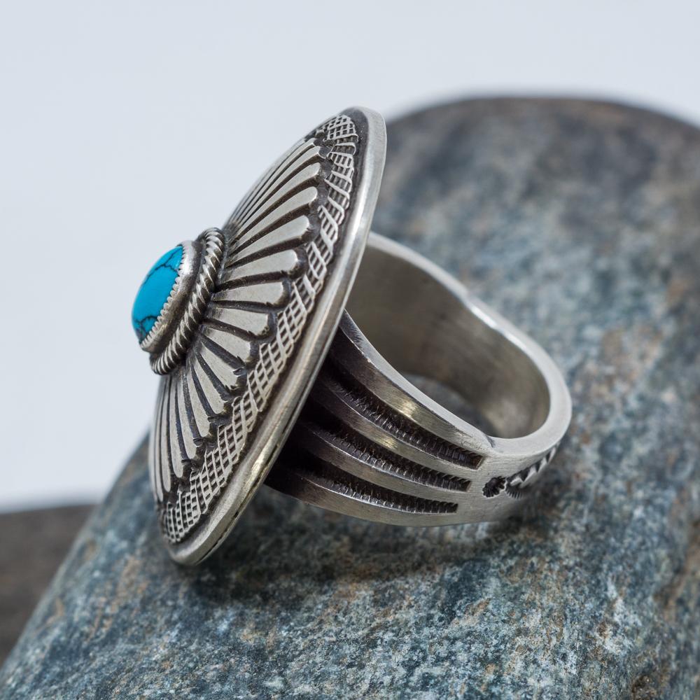 China Mountain Turquoise Ring