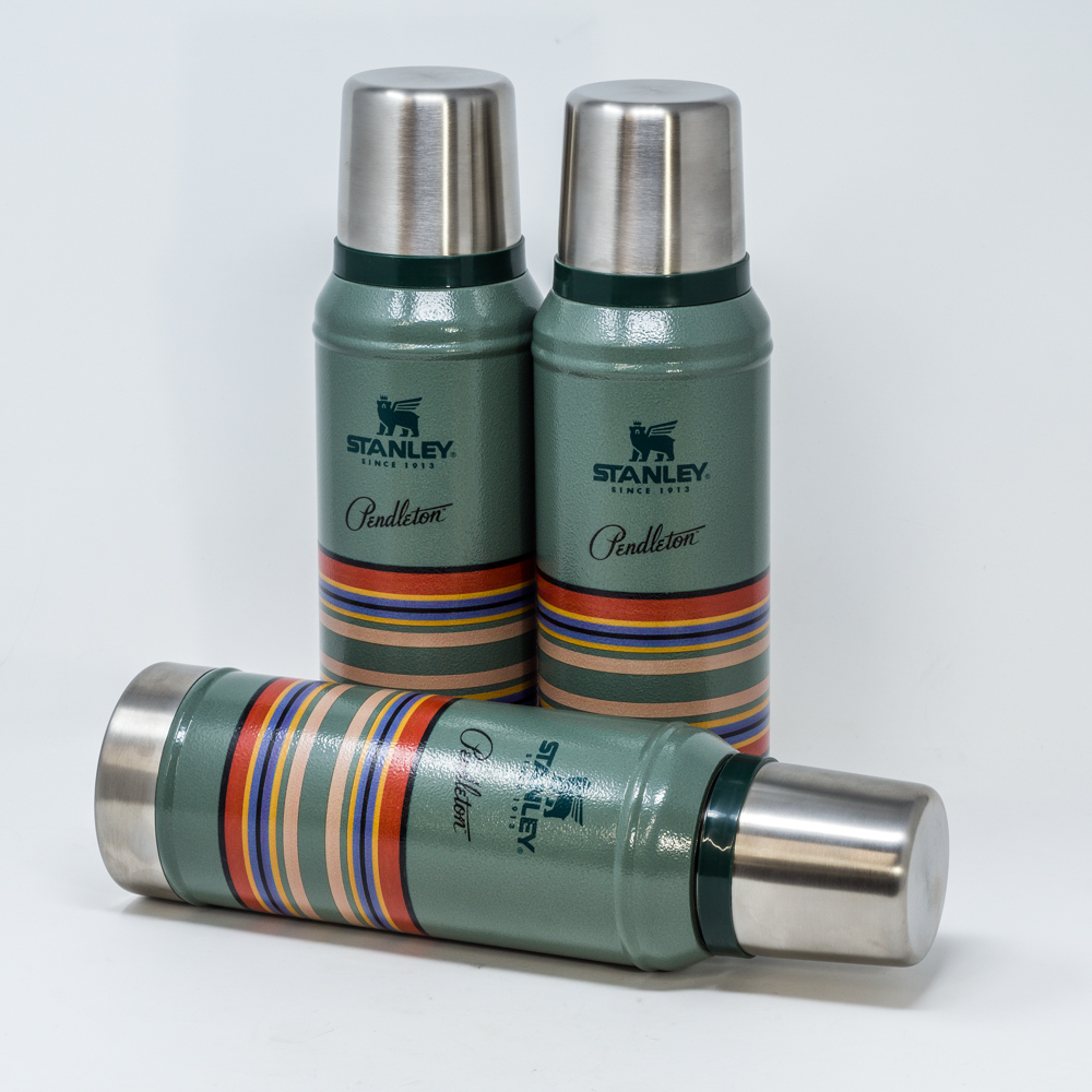 Pendleton Stainless Steel Thermos with Cup PE200004