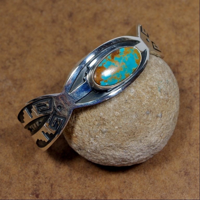 Silver Bracelet with Turquoise JE170161