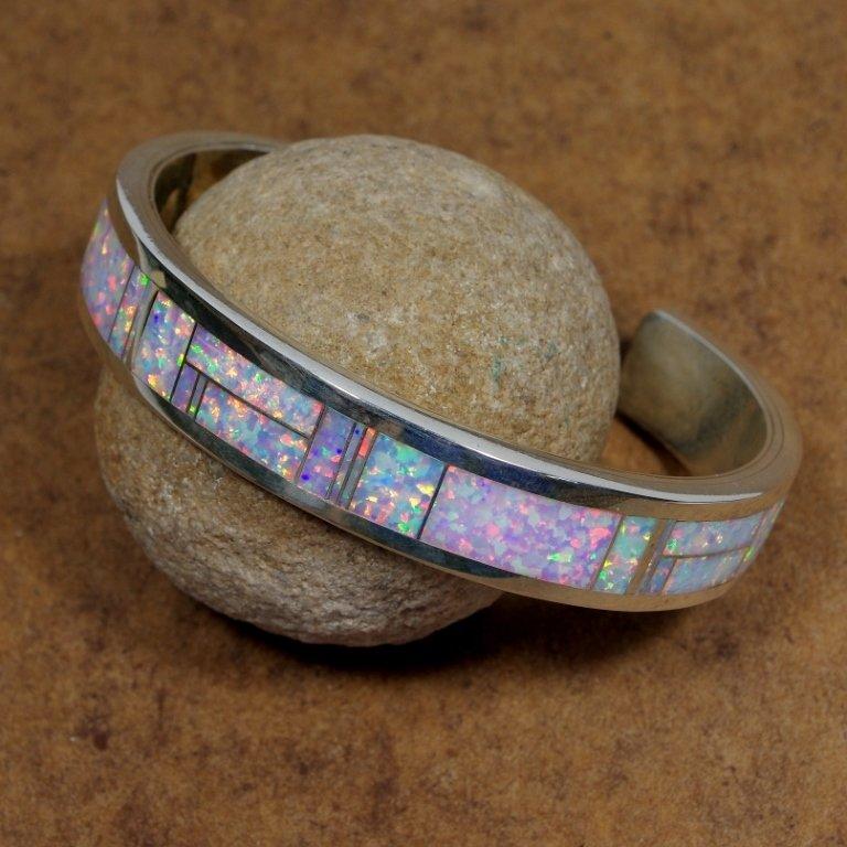 Sterling Silver Opal Bracelet JE170162