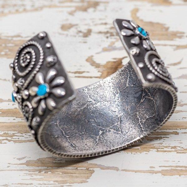 Ernest Rangel Sleeping Beauty Turquoise Cuff