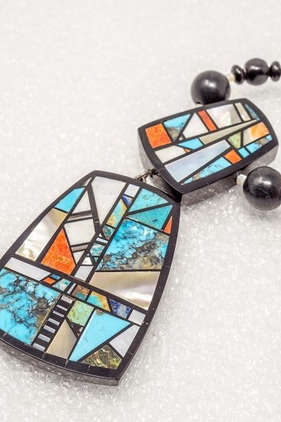 Chris Nieto Mosaic Necklace & Pendant JE180094