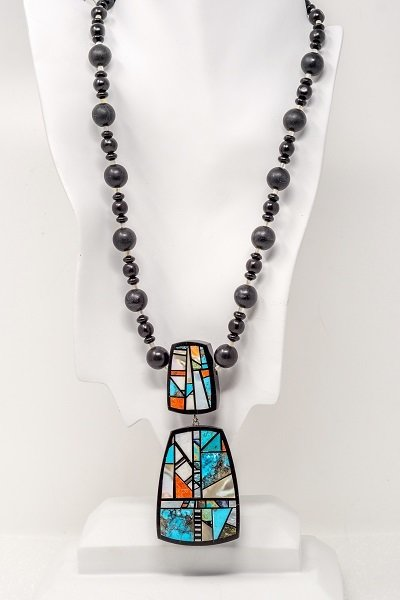 Chris Nieto Mosaic Necklace & Pendant