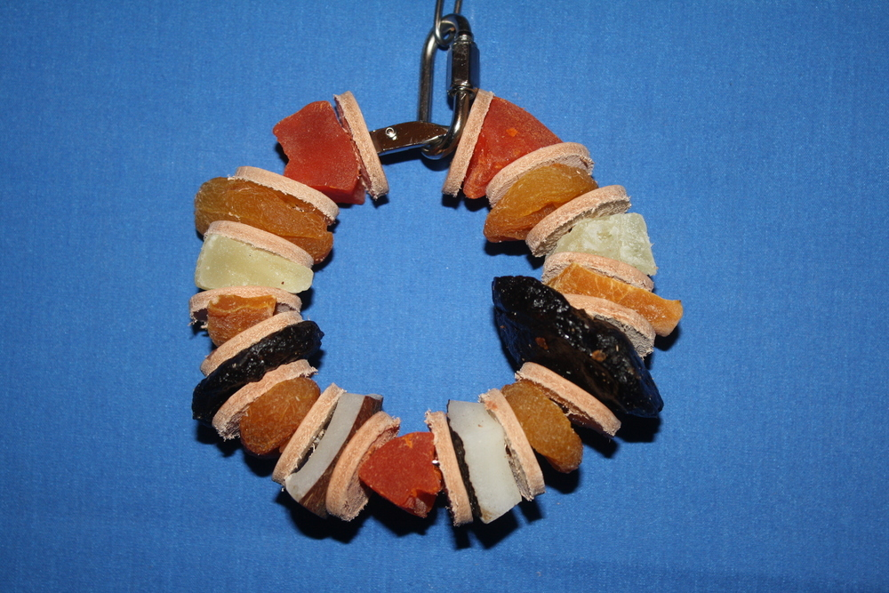 "Fruit Salad 3"" Refillable Ring"