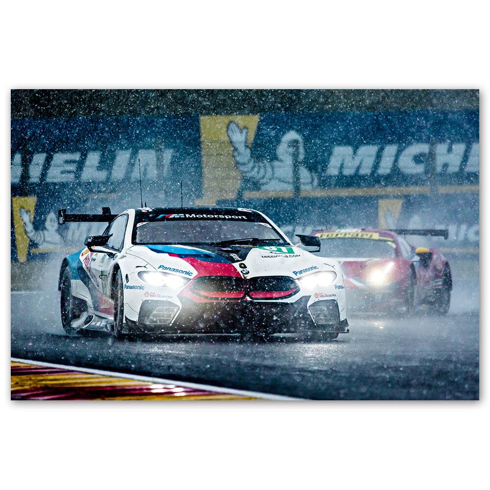 POSTER - BMW im Schnee