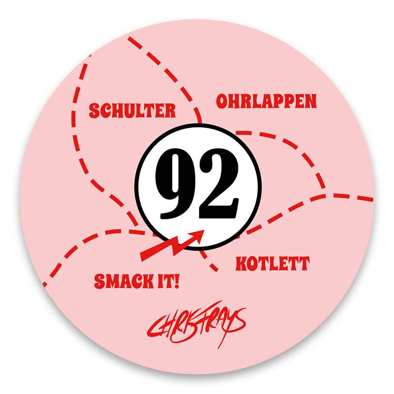 STICKER - Sau 917 - 8cm