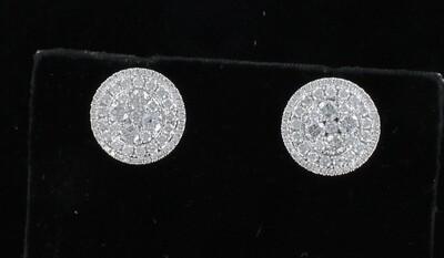 18KT 3.27 CT TW DIAMOND EARRINGS