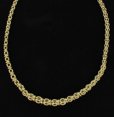 14KT YELLOW GOLD CHAIN