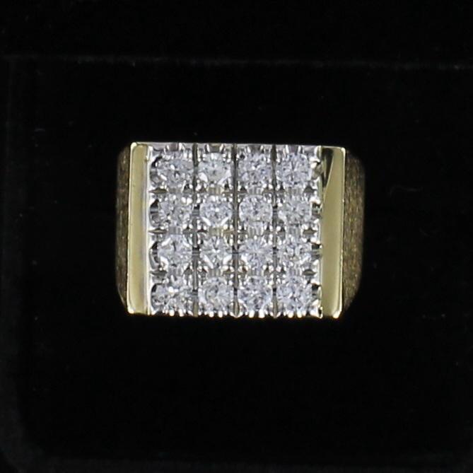 14KT 1.60 CT TW ROUND DIAMOND RING