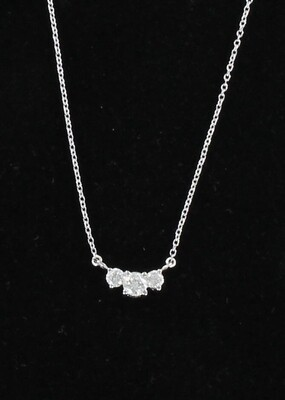 14KT .50 CT TW DIAMOND NECKLACE