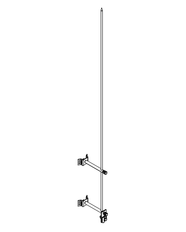 Молниеприемник стержневой сборный МСС-3.8КЛ-1200-0,1Н