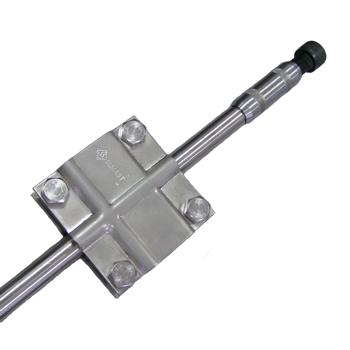 Комплект заземления из нержавеющей стали КЗН-4.1.20.102, 1x4,5 метра