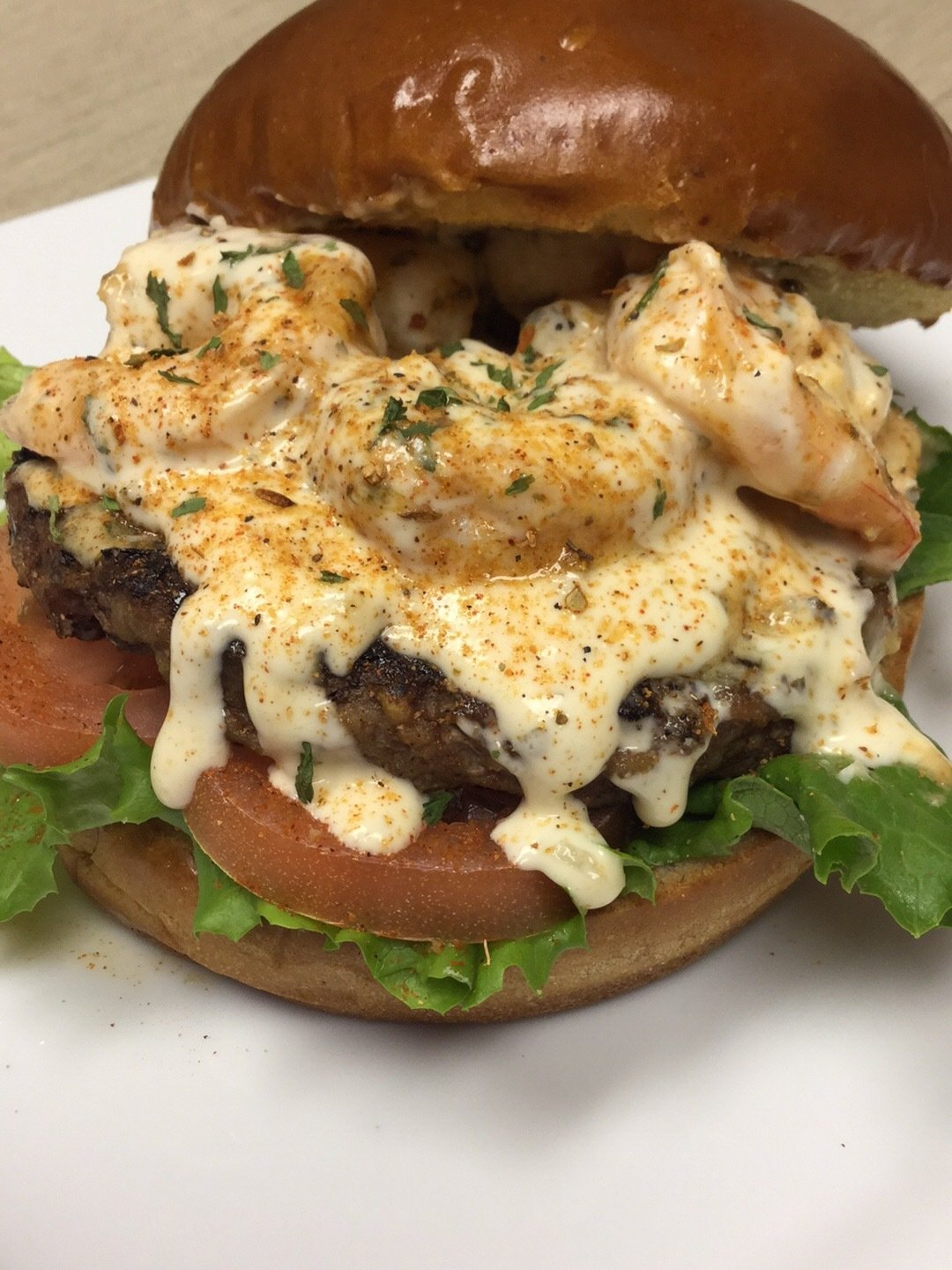 The Louisiana/Texas Border Burger