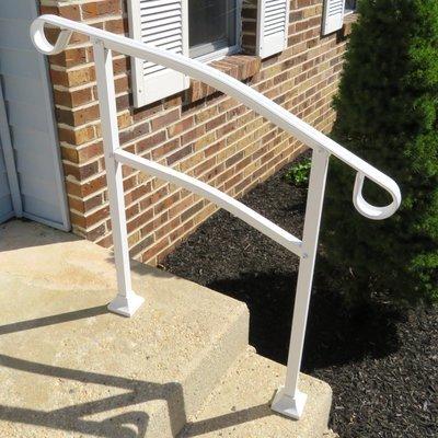 InstantRail 3-Step Adjustable Handrail - White