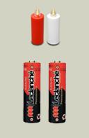 2 Alkali Batterien für G-230 Kerzen