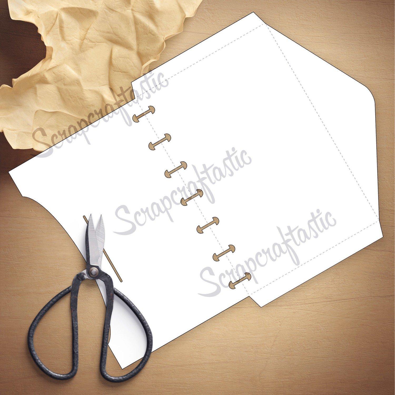 MINI DISC - Envelope Template & Cut Files