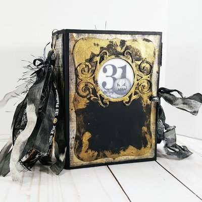 Halloween Vintage Neutral Handmade Junk Journal
