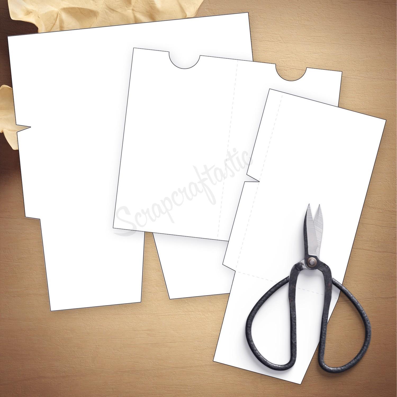 A6 - Folder Traveler's Notebook Insert Template
