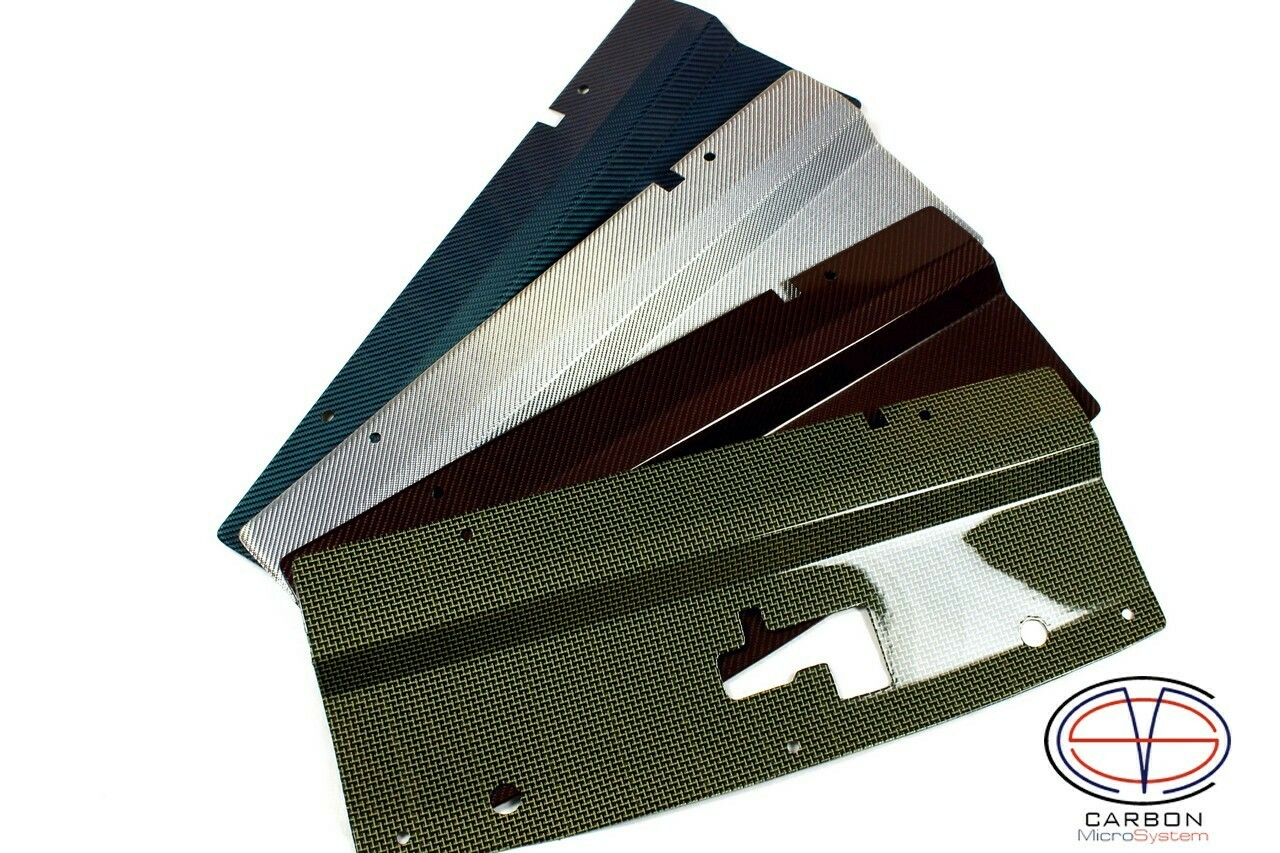Radiator cooling panel from Color Carbon Fiber and Kevlar for TOYOTA Celica  ST 182, ST 183, ST 185 GT4